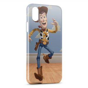 Coque iPhone XS Max Woody Toy Story Cowboy
