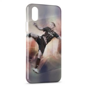 Coque iPhone XS Max Zlatan Ibrahimovic Football 2