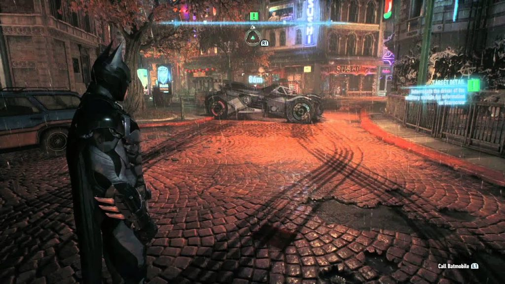 Batman sur PS4