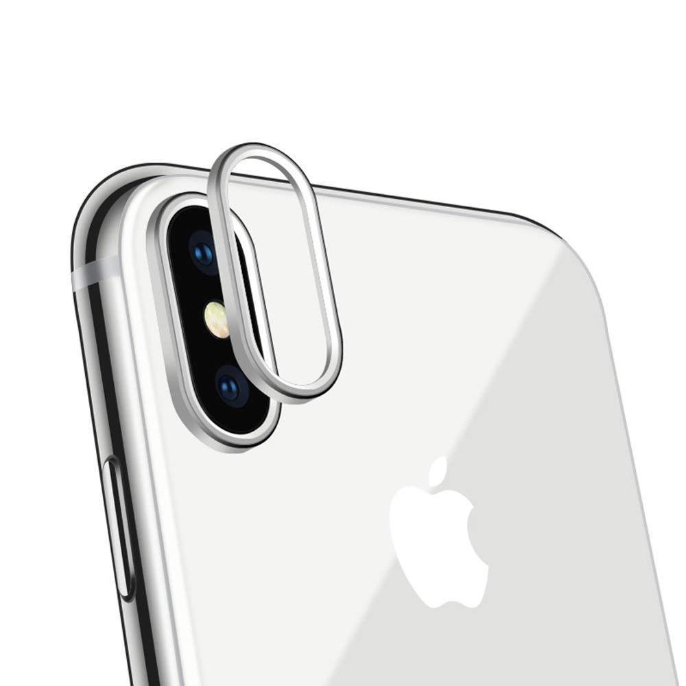caméra arrière sur iPhone X