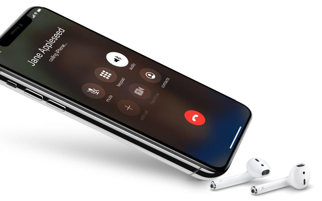 Sur iPhone X un bug empêche de répondre aux appels