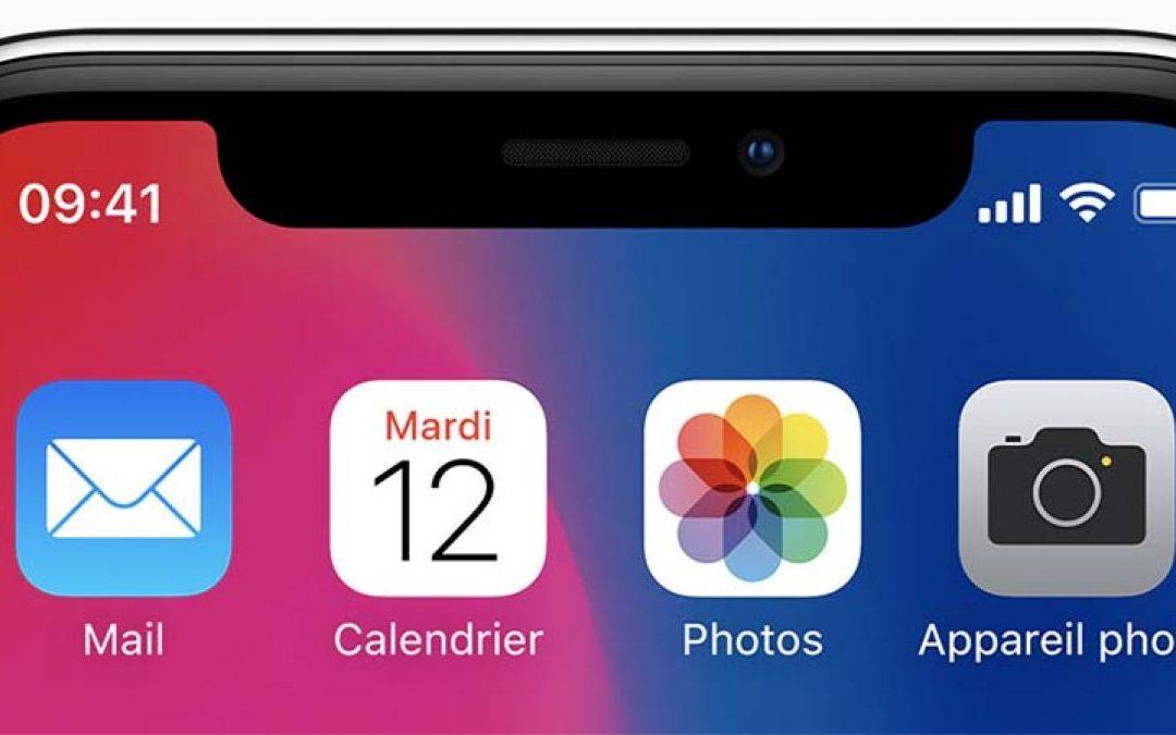 Pourquoi l'encoche de l'iPhone X est copiée par les constructeurs de smartphones?